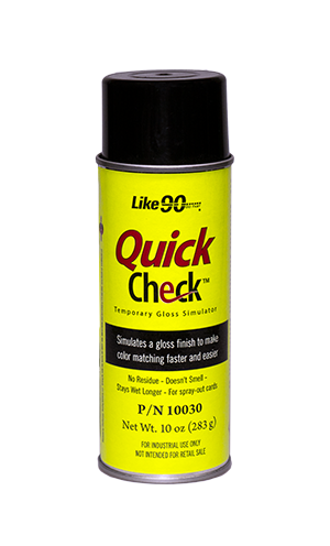 Like90 Quick Check 10 oz. aerosol can.